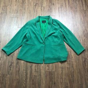 Eloquii | 22 | Shawl Collar One-Button Blazer